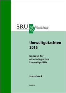 """SRU-Umweltgutachten 2016 fordert """"mehr Raum für Wildnis"""""""