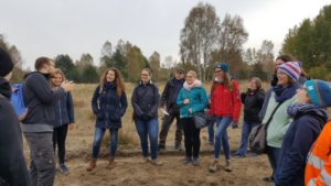 Gruppe in der Wildnis